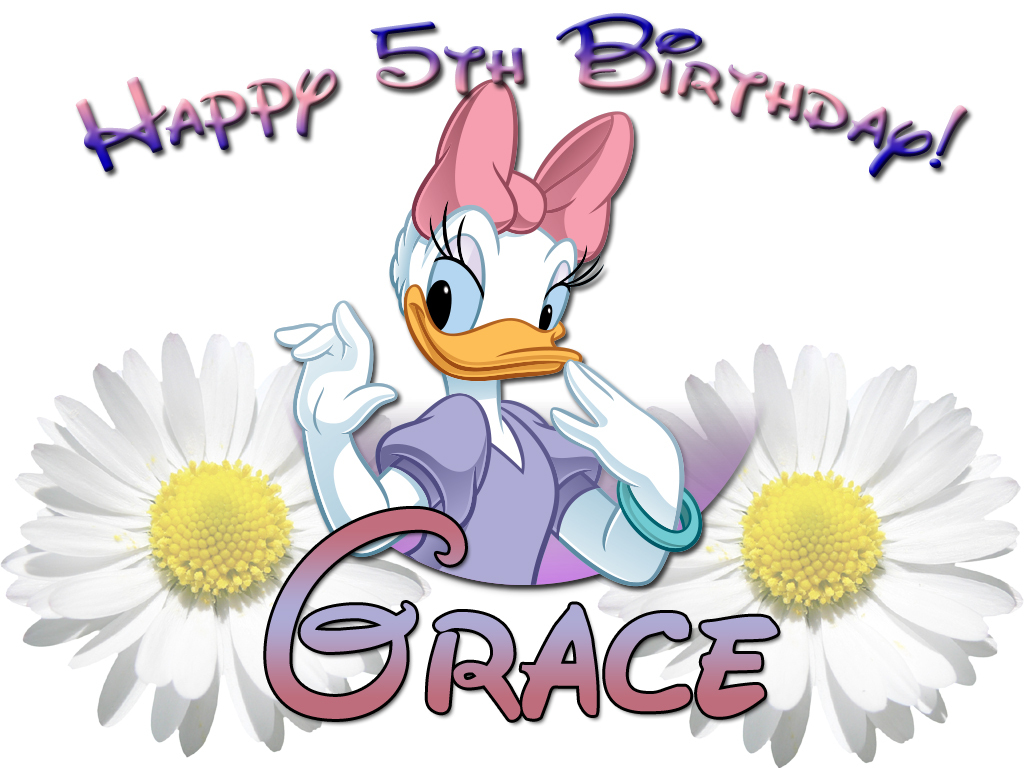 Personalized Birthday T-shirt *NEW* Disney Daisy Duck Birthday/Party Gifts for sale  USA