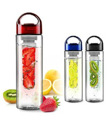 Fruit Infuser Sports Health Bottle Fruit Juice Bottle   - $15.90