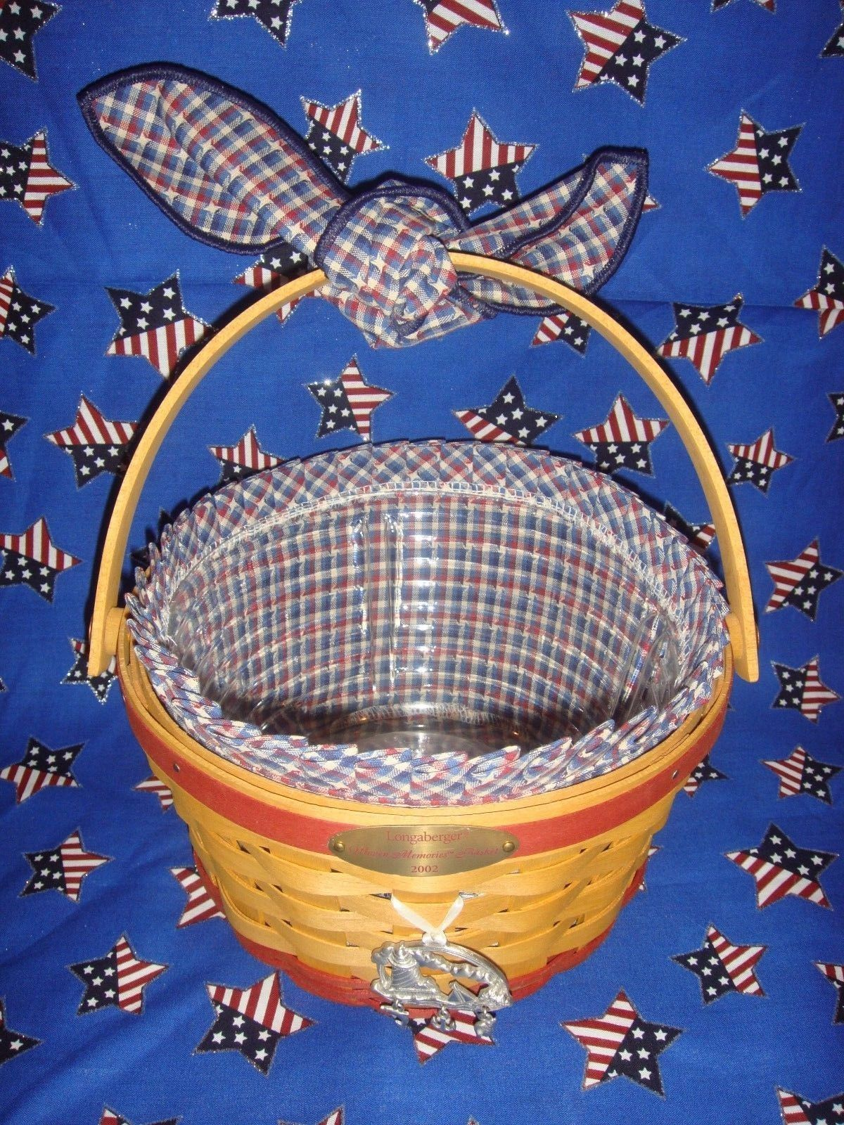 Primary image for Longaberger 2002 Woven Memories Basket Combo