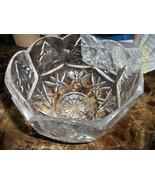 Vintage Large Imperial Crystal 24% Lead Bowl Ma... - $60.99