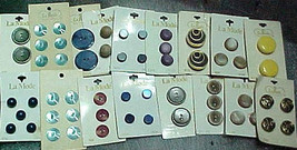 Buttons Assorted La Mode Lot#2-5 - $15.04