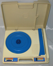 Fisher-Price 1978 Phonograph 33/45 Kids Record Player Turntable Electric - $75.00