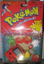 Pokemon Red Version Poke Ball Blaster with Battle Discs #25, 123, 113 FREE SHIP - $50.00