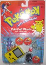 Pokemon RARE Yellow Poke Ball Blaster Rattata #19, Geodude #74, Gengar #94 - $100.00