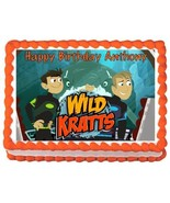 Wild Kratts Edible Frosting Sheet Cake Topper - 1/4 Sheet - $9.99