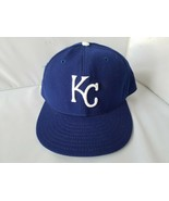 Kansas City Royals New Era 59fifty Fitted Hat Cap MLB Blue Genuine 7 1/2 - $42.36