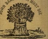 LP-- Traffic - John Barleycorn Must Die