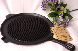 Old Mountain Cast Iron Preseasoned Round GriddleGrill Pan - $42.13