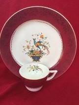 Vintage Salem plate 23 KT Gold  Centure and China Cup Set - $18.46
