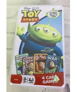 Disney Toy Story Kids Childrens Playing Card Games Rummy Go Fish Snap Wa... - $11.87