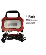 *SET OF 4*Snap On Portable Work Light *2000 LUMENS* 46 LED 25watts In/Ou... - $495.99