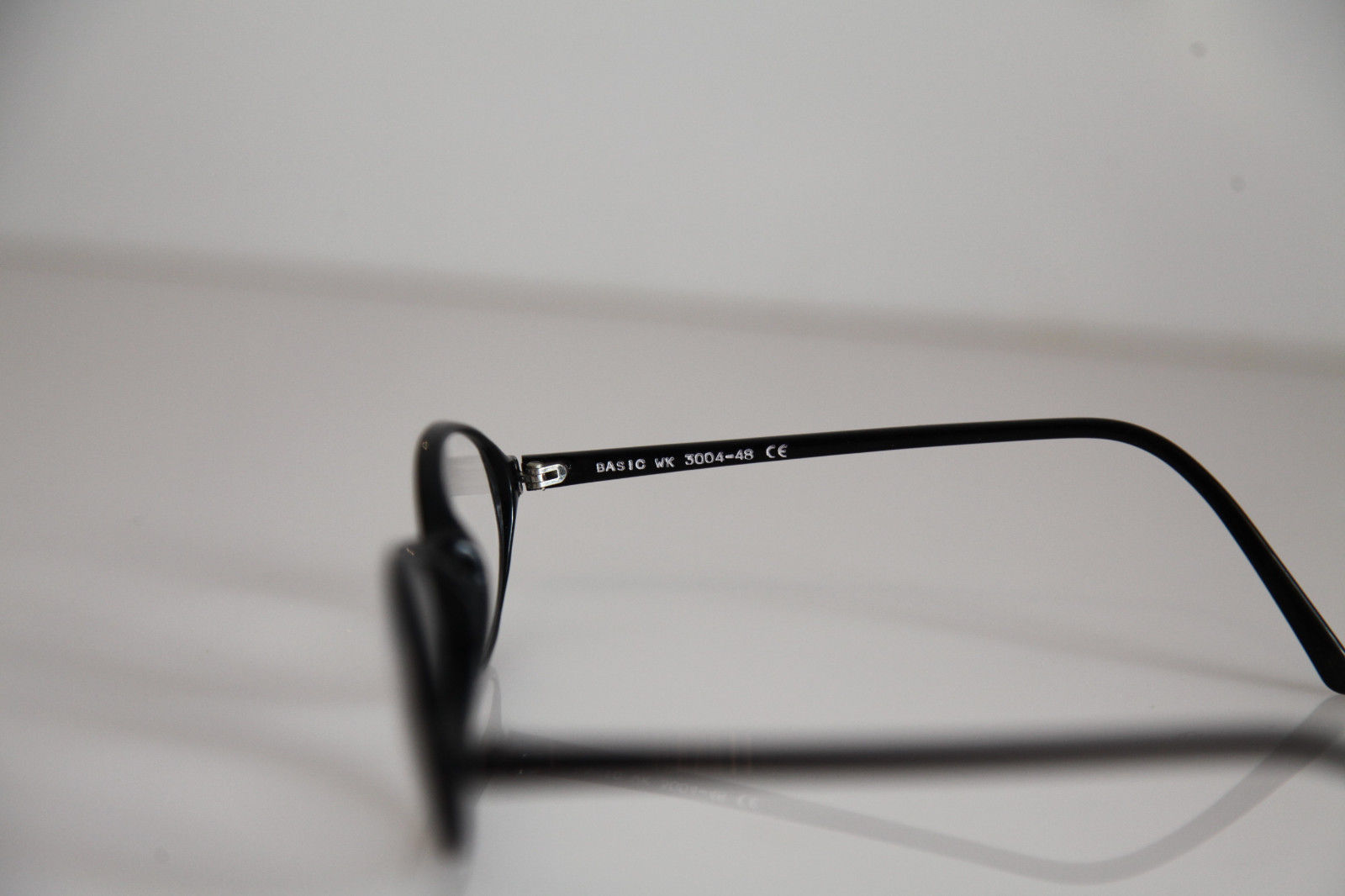BASIC Wagner & Kühner Eyewear, Black Frame, RX-Able  Crystal Prescription lens