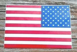 "REVERSE AMERICAN FLAG REFLECTIVE VINYL DECAL -3"" x 4"" REFLECTIVE U.S. FL... - $6.92"