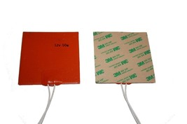 """4"""" x 4"""" 100 X 100 mm 50W 12V 3M Factory Direct Sale iThermal Silicone Pa... - $18.80"""