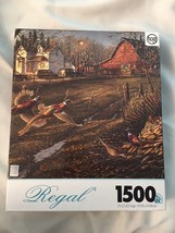 "Regal ""Thanks Be Given"" 1500Pc Jigsaw Puzzle  Sure-Lox 37 x 21 Inches - $29.99"