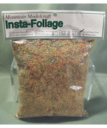 PACK OF INSTA-FOLIAGE BY MOUNTAIN MODELCRAFT FALL BLEND TURF 261 49 CUBI... - $8.99