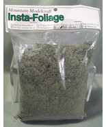 PACK OF INSTA-FOLIAGE BY MOUNTAIN MODELCRAFT GREEN TURF # 260 - 49 CUBIC... - $8.99