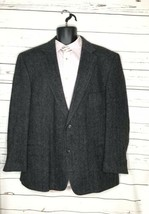 Woolrich Tweed Gray Wool 2-ButtonSport Suit Jacket 50R - $46.00