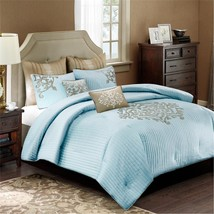 Madison Park Signature Lexington 8 piece Comforter Set - Blue - $3.651,15 MXN+