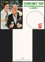 Vintage carton stuffer DIET 7 UP dated 1981 Lynda Carter Don Rickles n-m... - $7.99
