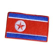 Set Of 10 Affixed National Flag Badge Embroidered Cloth Patch Stickers