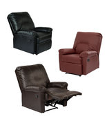 Eco Leather Kensington Recliner Living room Lounge Club Easy Chair - $289.99