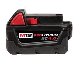 M18™ REDLITHIUM™ XC 4.0 Extended Capacity Battery Pack milwaukee 48-11-1840 - $79.15