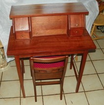 Solid Cherry Writing Desk with Chair - $699.00