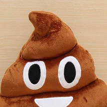 Funny Cotton Poo Shape Throw Pillow Home Office Car Cushion - $15.90