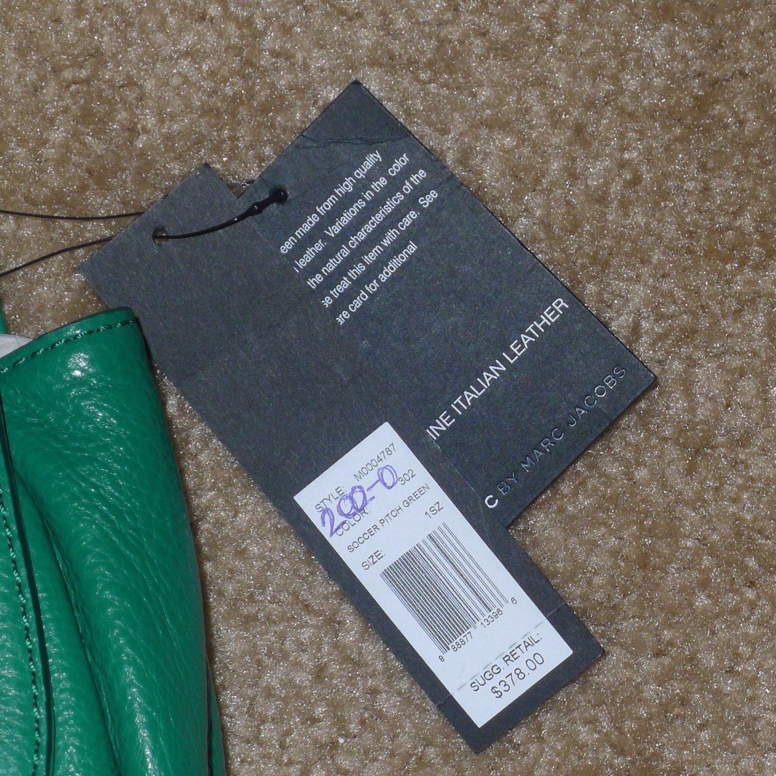 3edb96a5e6 NWT $378 MARC by MARC JACOBS Chain Reaction Robin Crossbody Soccer Green  Purse