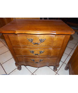 Mid Century Pecan Nightstand / End Table by Thomasville  (NS28) - $299.00