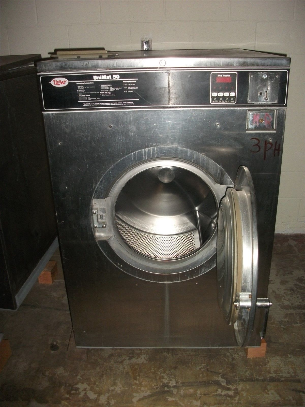 Un Imac Washer Extractor ~ Unimac unimat lb washer extractor used and similar