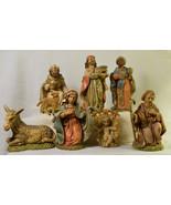 "#0321 - 8 piece Fontanini 4"" Nativity - Italy - starter set  - $95.00"