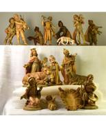 """#0322 - 16 piece Fontanini 4"""" Nativity Italy - Starter Set Nativity  - $225.00"""