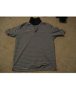 Reebok CasualT-Shirt Short Sleeve Blue, Yellow, White Stripes Mens Size: M - $7.49