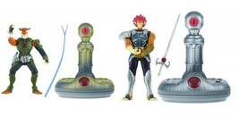 NEW 2011 Bandai 3 3/4 Lion-O & Tygra Deluxe Pack Lights & Sounds Thunder... - $10.99