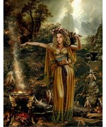 haunted  FEMALE MUSE Heal writers block BRING NEW IDEAS elder witches MOM25705 - $21.84