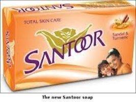 Santoor Sandal & Turmeric Soap - 100g (Pack of 3) [Health and Beauty] - $4.31