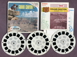 GRAND CANYON NP, ARIZONA, SOUTH RIM, Sawyer's View-Master Packet #A361 s... - $13.37