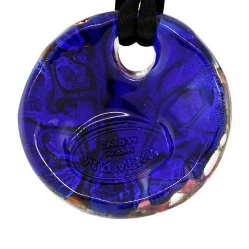 Handmade Murano Glass & 925 Sterling Silver Designer Necklace