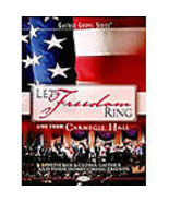 """Gaither Gospel Series """"Let Freedom Ring"""" Live From Carnegie Hall DVD - $9.99"""