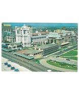 Hotel Marlborough Blenheim Atlantic City NJ Aerial View Vntg 1960s Postcard - $6.69