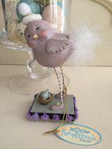 Dept. 56 Sweet Tweets Janell Berryman's Pumpkinseeds Folk Art Bird Figurine NWT - $13.95