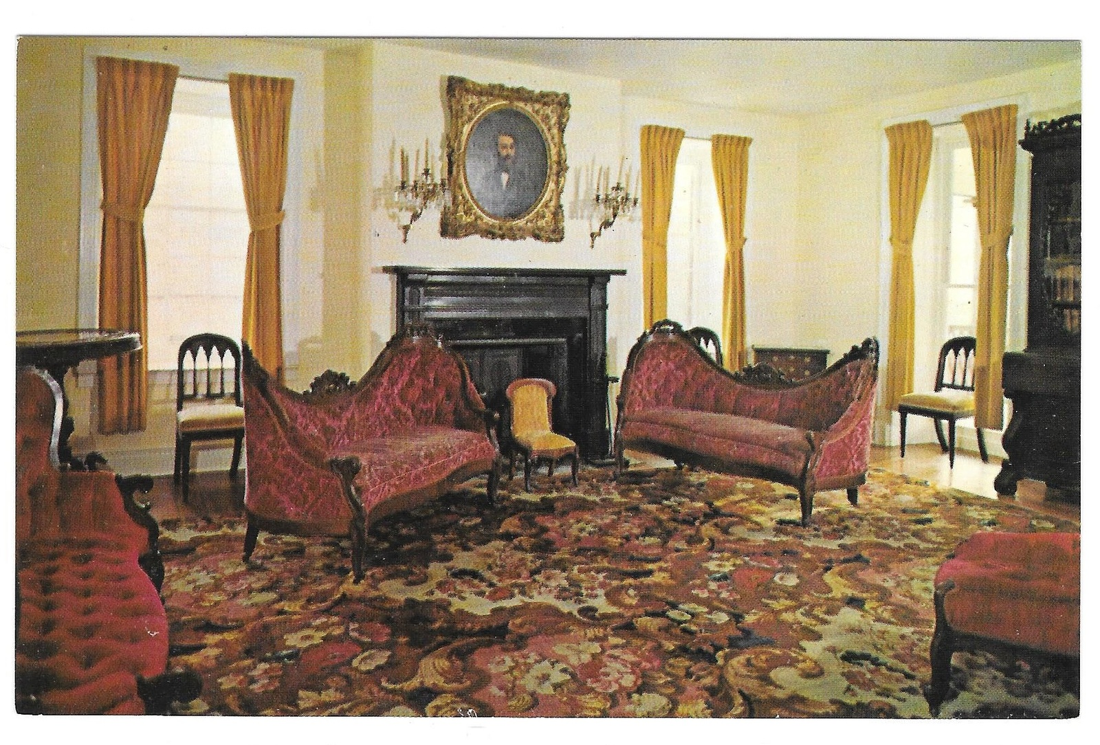 97 br 3850 315 pa hopewell village parlor of big house
