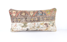 12x24 Tribal decorative pillow turkish throw pillow lumbar hand woven pi... - £13.46 GBP