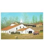 Hopewell Village PA Furnace Bridge Cast House Vintage Postcard Walter H.... - $4.99