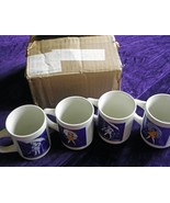 Vintage Morton Salt Ceramic Coffee Cup/Mug set - $250.00
