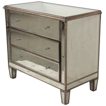 BEAUTIFUL MIRROR MODERN CHEST,36'' X 19'' X 32'... - $1,500.00
