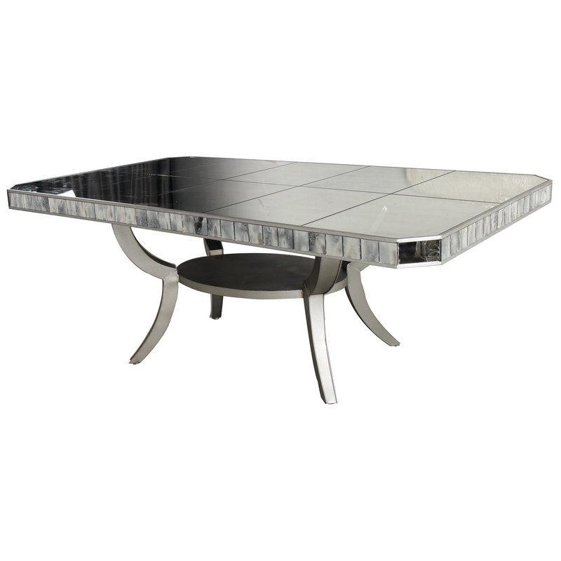 large modern metal glass dining room table 90 39 39 l x 46 39 39 d x