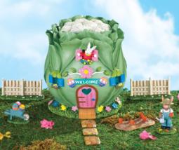 Easter Bunny Cabbage Garden Home - 9 pc Set - $26.95